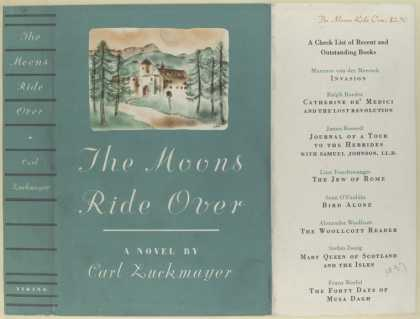Dust Jackets - The moons ride over : a n