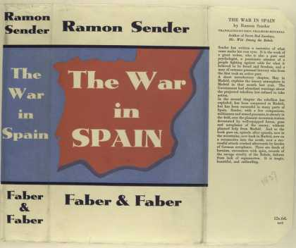 Dust Jackets - The war in Spain / Ramon