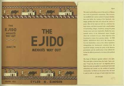 Dust Jackets - The ejido : Mexico's way