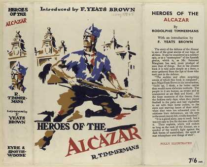 Dust Jackets - Heroes of the Alcazar / R