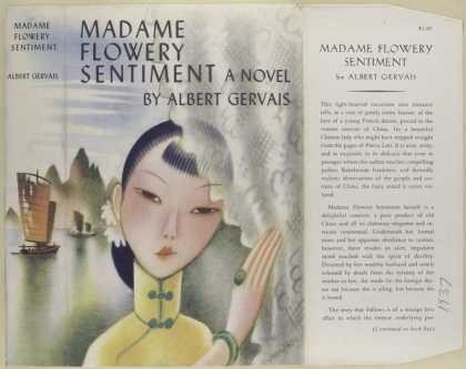 Dust Jackets - Madame Flowery Sentiment