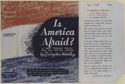 Dust Jackets - Is America afraid? : A ne