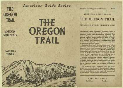 Dust Jackets - The Oregon trail the Mis