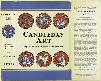 Dust Jackets - Candleday art / Marion Ni