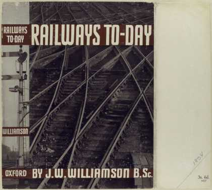 Dust Jackets - Railways to-day / by J.W.