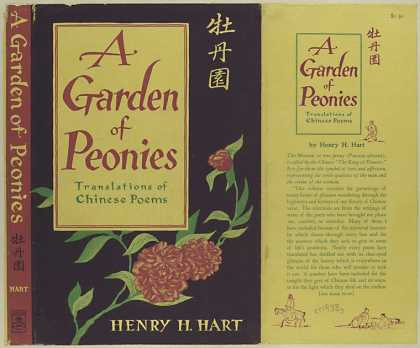 Dust Jackets - A garden of peonies / Hen