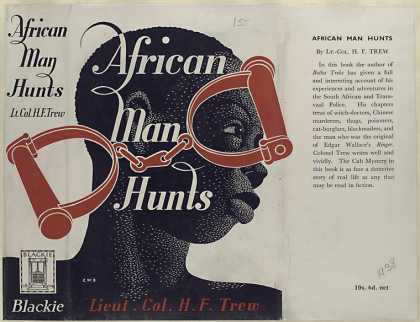 Dust Jackets - African man hunts / by Lt