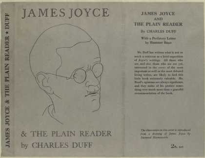 Dust Jackets - James Joyce and the plain