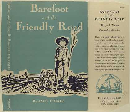 Dust Jackets - Barefoot and the friendly