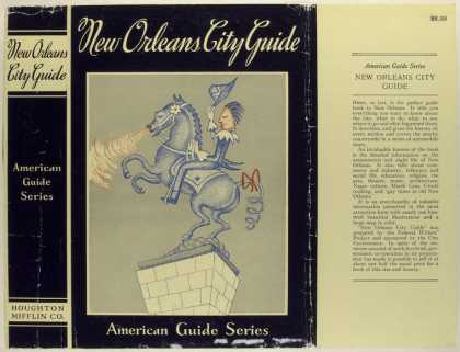 Dust Jackets - New Orleans city guide.