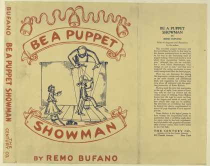 Dust Jackets - Be a puppet showman.
