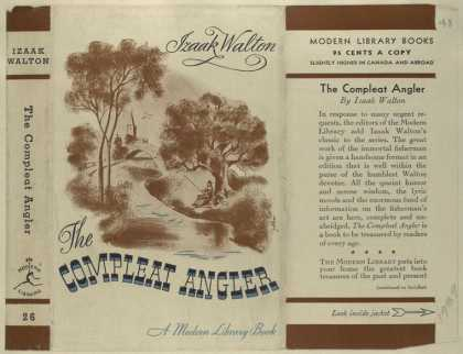 Dust Jackets - The compleat angler.