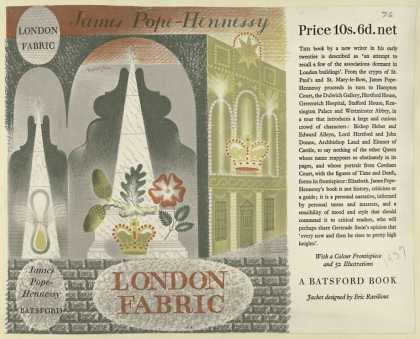 Dust Jackets - London fabric.