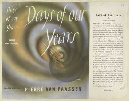 Dust Jackets - Days of our years.
