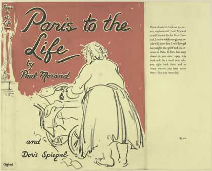 Dust Jackets - Paris to the life.
