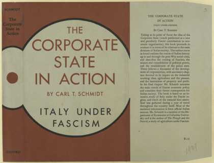 Dust Jackets - The corporate state in ac