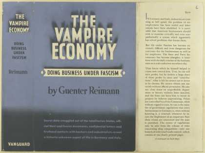 Dust Jackets - The vampire economy doin