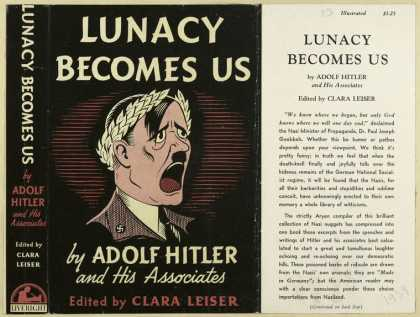 Dust Jackets - Lunacy becomes us, by Ado