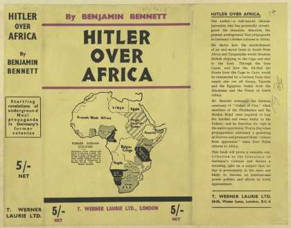 Dust Jackets - Hitler over Africa.