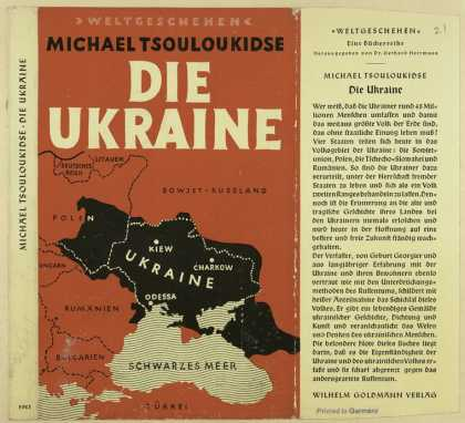 Dust Jackets - Die Ukraine.