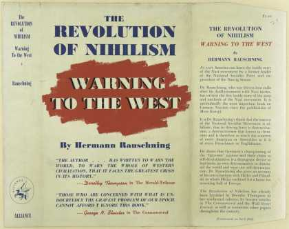 Dust Jackets - The revolution of nihilis