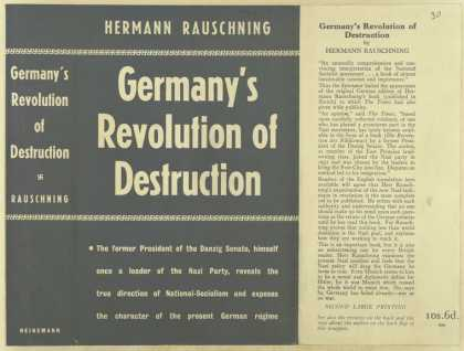 Dust Jackets - Germany's revolution of d