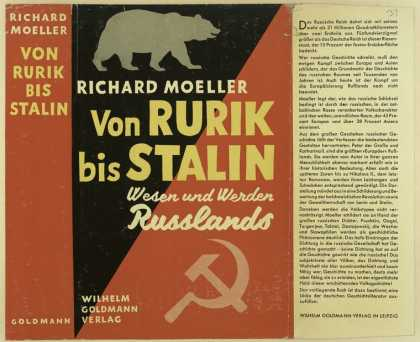 Dust Jackets - Von Rurik bis Stalin : We