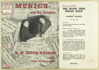 Dust Jackets - Munich and the dictators.
