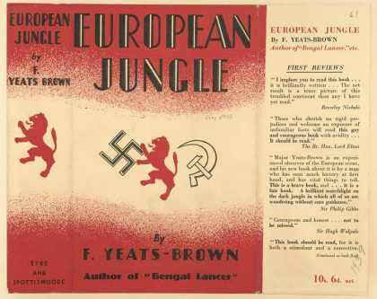 Dust Jackets - European jungle.