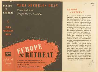 Dust Jackets - Europe in retreat.