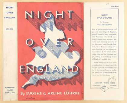 Dust Jackets - Night over England.