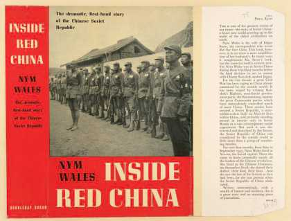 Dust Jackets - Inside red China.