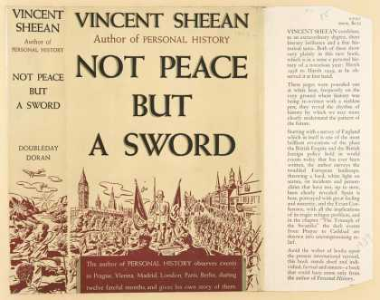 Dust Jackets - Not peace but a sword.