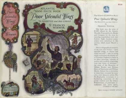 Dust Jackets - Poor splendid wings the