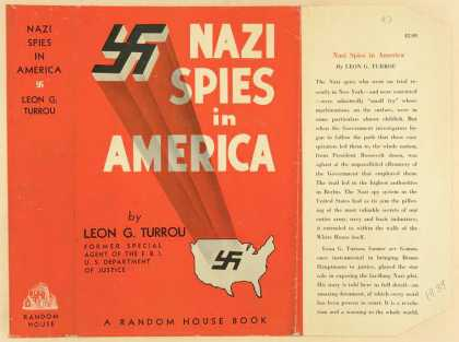 Dust Jackets - Nazi spies in America.