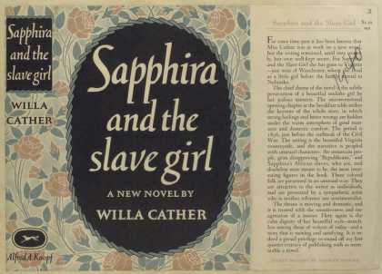 Dust Jackets - Sapphira and the slave gi