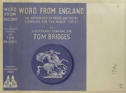Dust Jackets - Word from England : an an