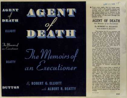 Dust Jackets - Agent of death : the memo