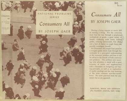 Dust Jackets - Consumers all / by Joseph