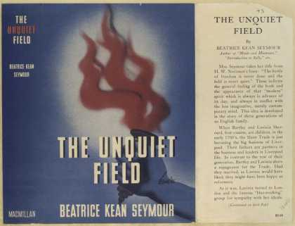 Dust Jackets - The unquiet field.
