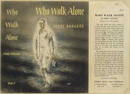 Dust Jackets - Who walk alone.