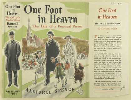 Dust Jackets - One foot in heaven : the