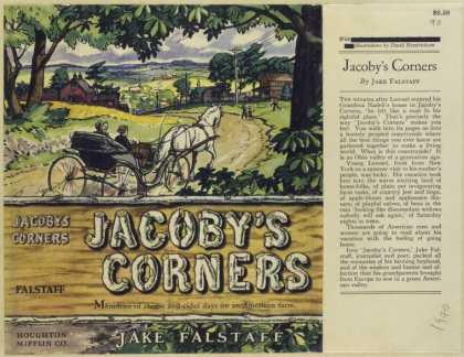 Dust Jackets - Jacoby's corners.