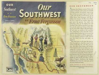 Dust Jackets - Our Southwest.
