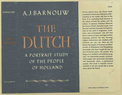 Dust Jackets - The Dutch.