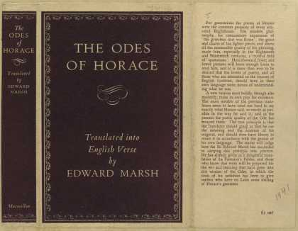 Dust Jackets - The Odes of Horace.