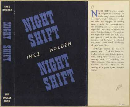 Dust Jackets - Night shift.