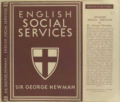 Dust Jackets - English social services.