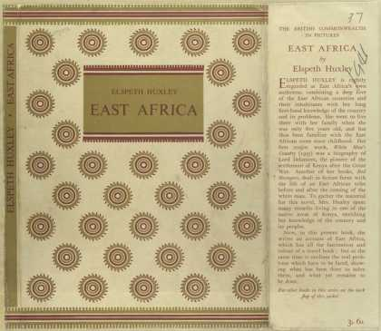 Dust Jackets - East Africa.