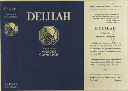 Dust Jackets - Delilah.
